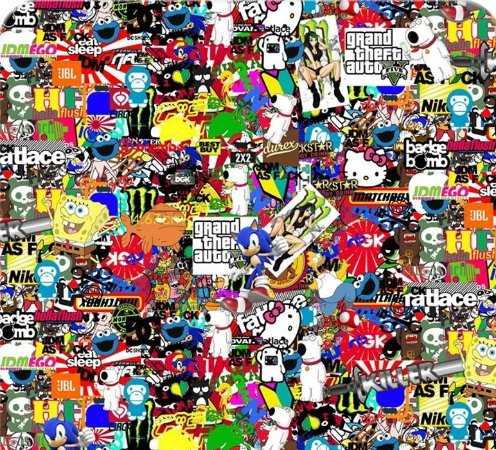 Games Stickers