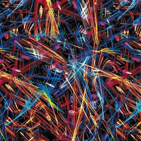 Riscos Abstrato - Tamanho 1M X 50