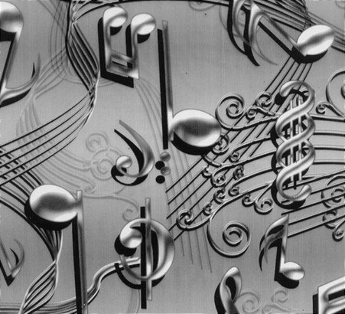 NOTAS MUSICAIS - TAMANHO 1M X 50CM