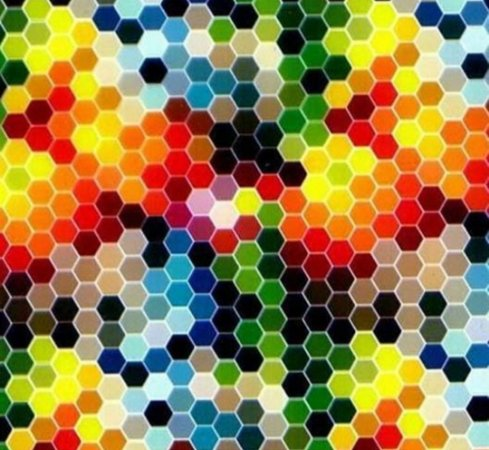 Comeia colorida - Tamanho 1M X 50CM - Pintura Hidrografica WTP
