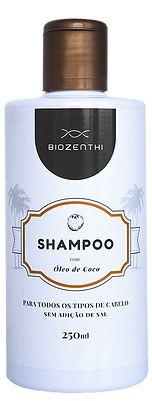 Shampoo com Óleo de Coco - 250ml