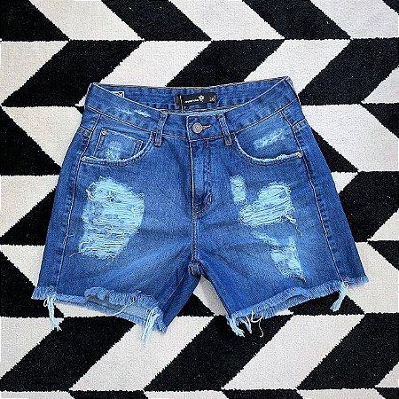 Shorts Jeans Rasgado Murau