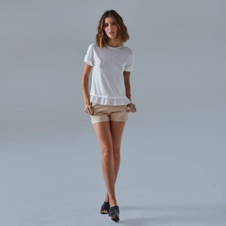 T-Shirt Laise Off White Murau