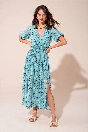 Vestido Crepe Midi Maria Le Blog