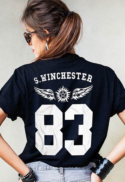 Camiseta Sam Winchester Supernatural