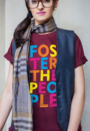 Camiseta Colors Foster The People