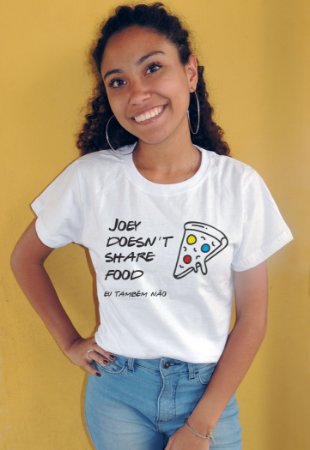 Camiseta Joey Doesn't Share Food Friends