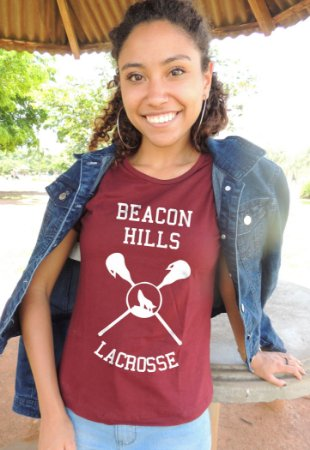 Camiseta Beacon Hills Lacrosse Teen Wolf
