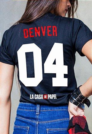 Camiseta Denver La Casa de Papel