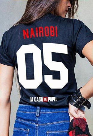 Camiseta Nairobi La Casa de Papel