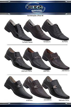4457ecdec3 Sapatos Sociais Elegantes e Confortáveis para agradar até os homens ...