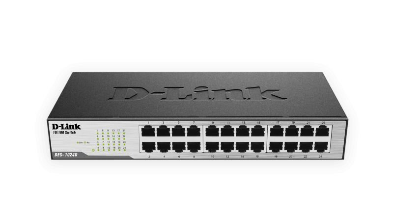 Switch DES-1024D Fast Ethernet 24 Portas D-Link