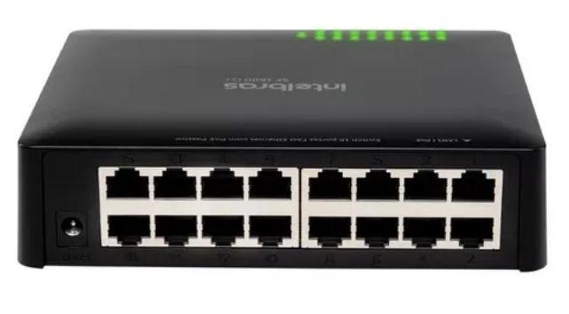Switch 16 portas Fast Ethernet  SF 1600 Q+