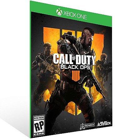 BO4 Call of Duty Black Ops 4 - Xbox One - Mídia Digital e 25 Dígitos