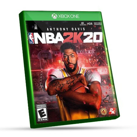 NBA 2K20 - Xbox One - Código 25 Dígitos e Mídia Digital