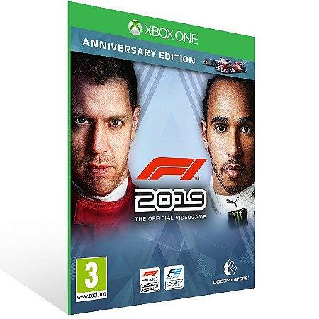F1 - Formula 1 - Xbox One - Código 25 Dígitos e Mídia Digital