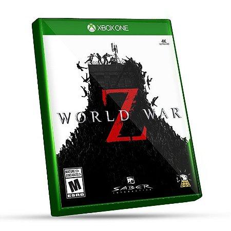 World War Z - Xbox One - Código 25 Dígitos e Mídia Digital