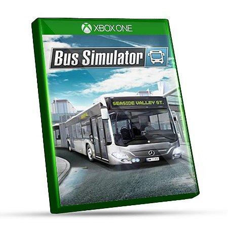 Bus Simulator  - Xbox One - Mídia Digital e Código 25 Dígitos