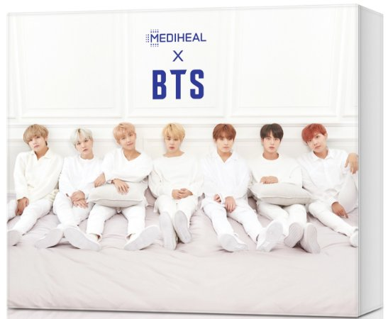 KIT BTS X MEDIHEAL  ( Teatree + DNA )