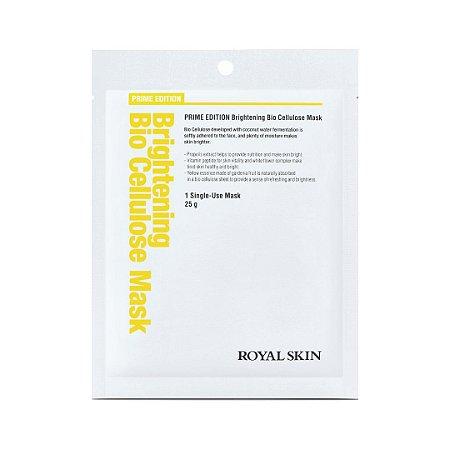 Máscara Facial Bio celulose - Royal Skin Prime Brightening