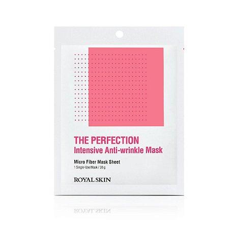 Máscara Facial Microfibra - Royal Skin The Perfection Anti-Wrinkle