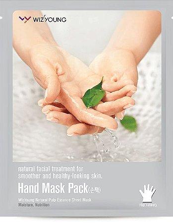 Máscara Hidratante para mãos Wizyoung Hand Essence Mask - SISI