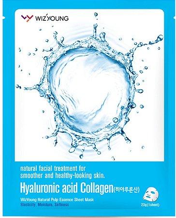 Máscara Facial Hidratante - Wizyoung Hyaluronic Acid