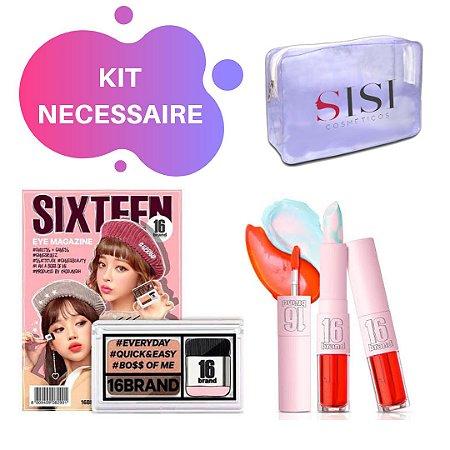 Kit Necessaire Sixteen Brand - SISI