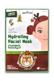 Máscara Facial com estampa de Rena - SISI