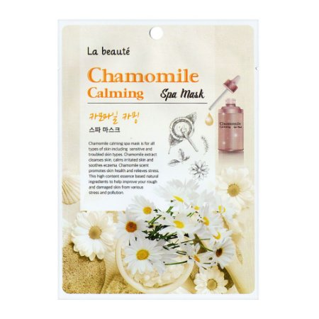 Máscara de Camomila - La beauté Chamomile Calming
