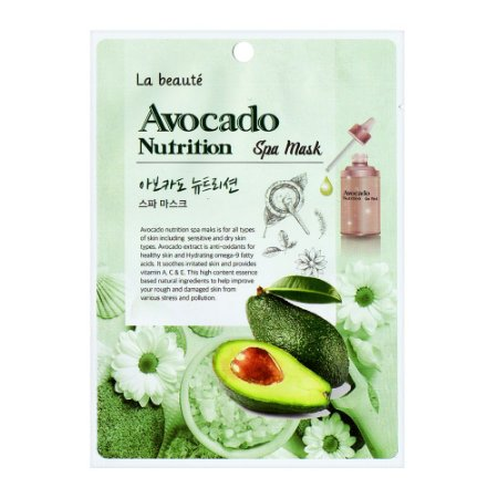 Máscara de abacate - La beauté Avocado Nutrition