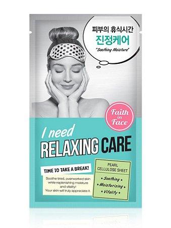 Máscara calmante - Faith in face I Need Relaxing care