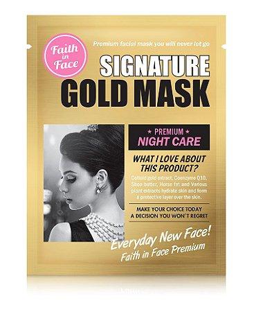 Máscara Foil - Faith in face Gold