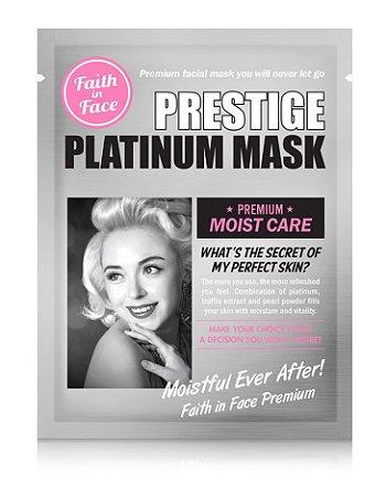 Máscara Foil - Faith in face Platinum