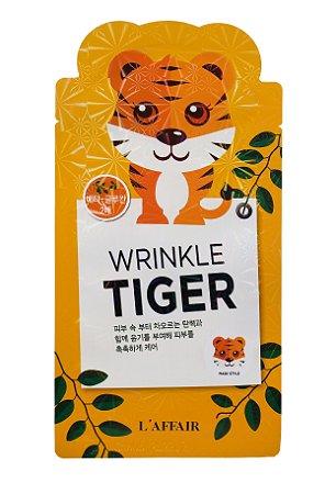 Máscara Facial com estampa de Tigre - L'affaier Tiger