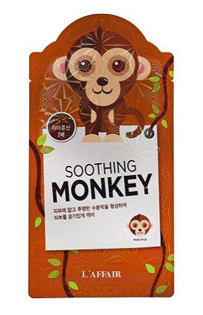Máscara Facial com estampa de Macaco - L'affaier Monkey