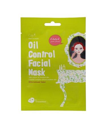 Máscara Facial Controle de Oleosidade - Cettua Oil Control