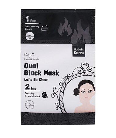 Máscara Facial 2 Passos - Cettua Dual Black