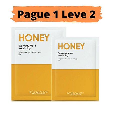 PAGUE 1 LEVE 2 Máscara facial nutritiva - Boom de ah dah honey