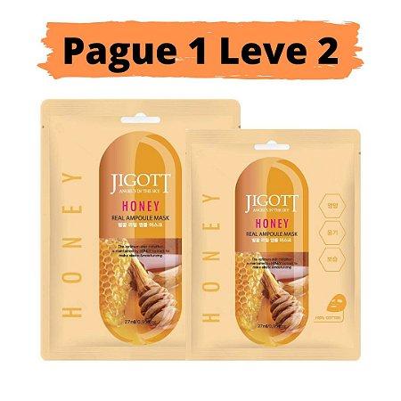 PAGUE 1 LEVE 2 Máscara facial hidratante - Jigott honey