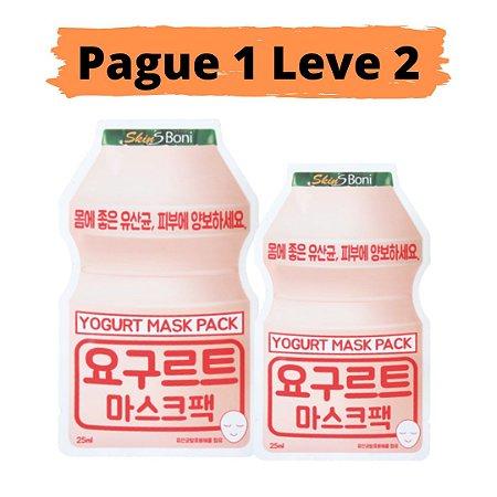 PAGUE 1 LEVE 2 Máscara facial anti idade - Yogurt skins bony