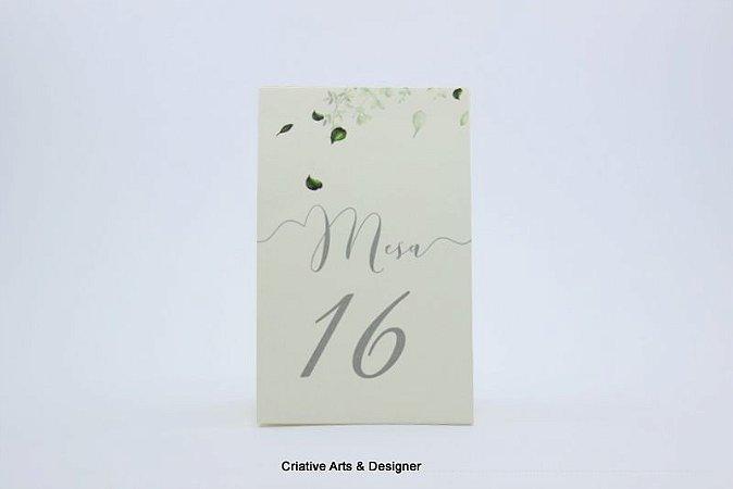 Pacote de 10 Reservas de mesa 7 x 10