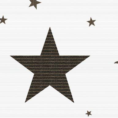 Papel de Parede com tema estrelas da coleção Artdecor2 80772 Importado Vinilico 15 mts