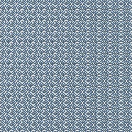 Papel De Parede Tic Tac II 10x0.53m Geométrico Azul