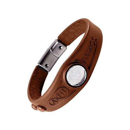 Pulseira Bracelete Akmos I9 Magnetica Equilibrio Bem Estar - Old Metal