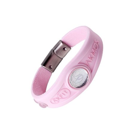 Pulseira Bracelete Akmos I9 Magnetica Equilibrio Bem Estar - Rosa