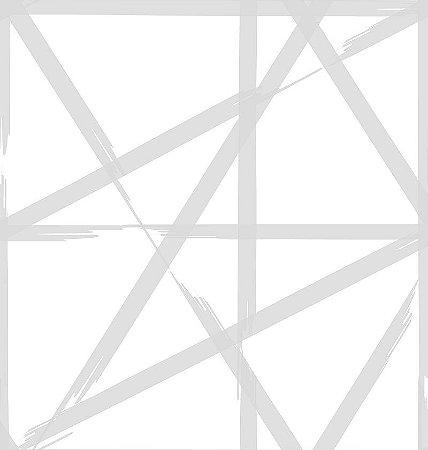 Papel De Parede Twist 10x0.52m Rabisco Cinza