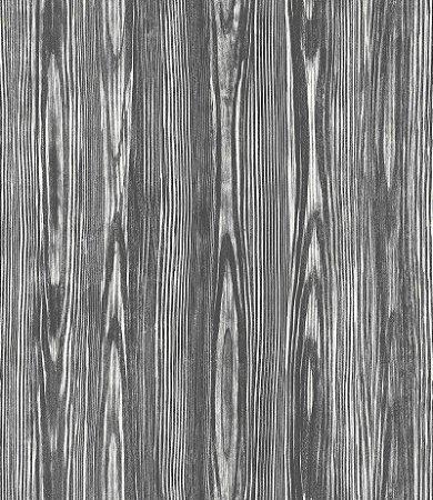 Papel De Parede Twist 10x0.52m Amadeirado Preto