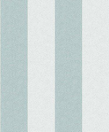 Papel De Parede Rumba 10x0.53m Listra Bege/Verde
