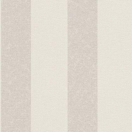Papel De Parede Grace 10x0.53m Listra Branco/Cinza 401301032